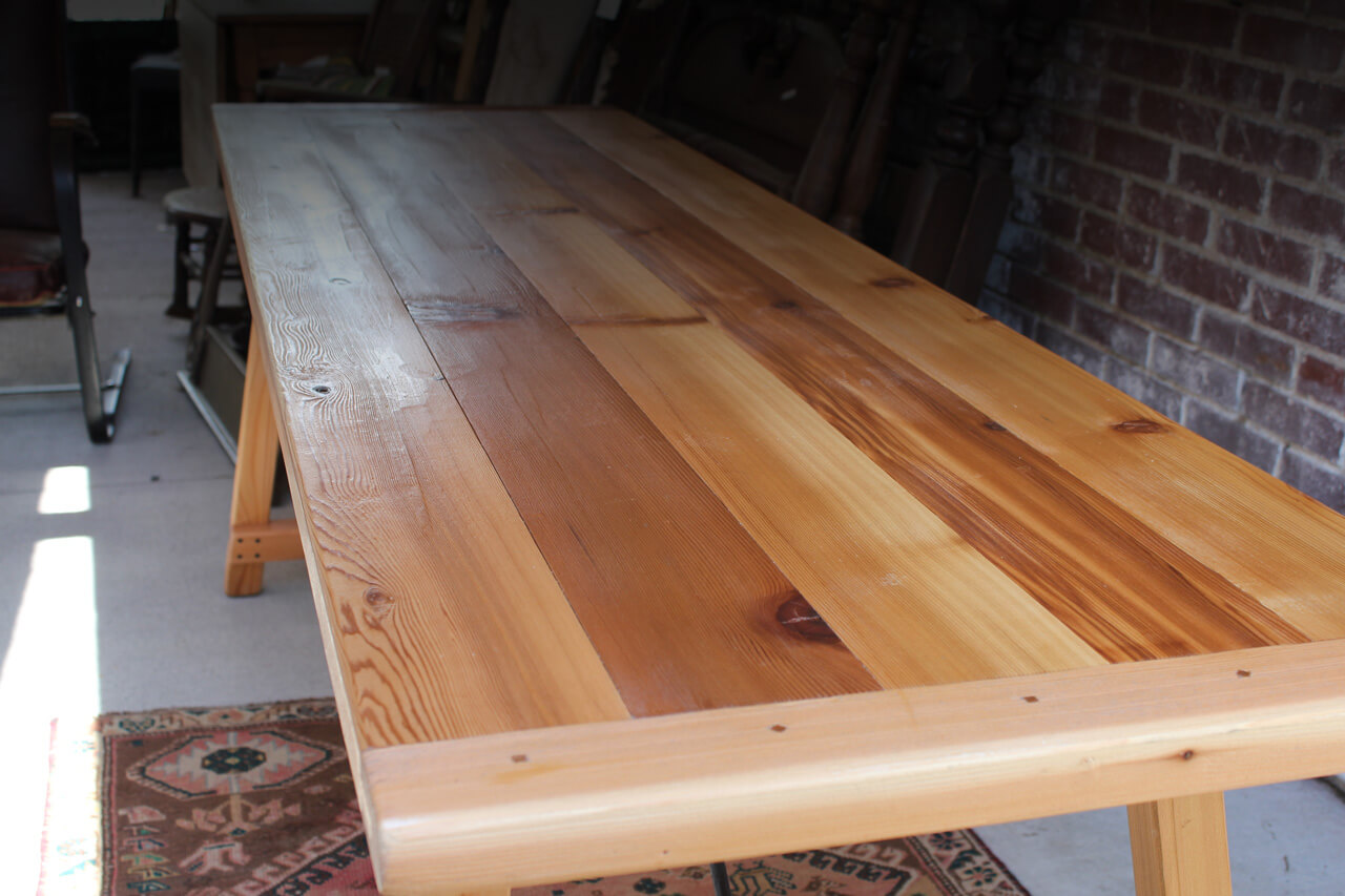 Handmade Folding Farm Tables Made From Old Reclaimed Wood Or Solid Wood Of  Choice.